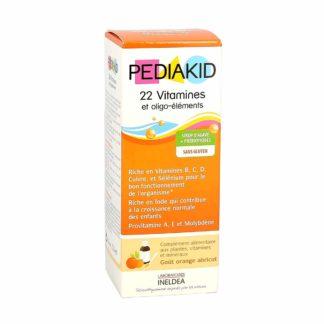 Pediakid 22 Vitamines et Oligoéléments