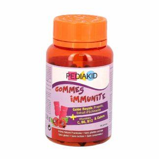 Pediakid Gommes Immunité Framboise