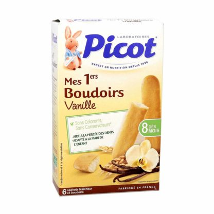 Picot Mes 1ers Boudoirs Vanille