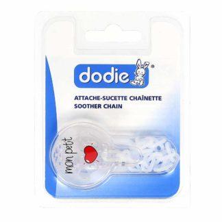 Dodie Attache-Sucette Chaînette
