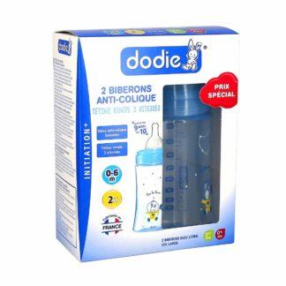 Dodie Biberon Anti-Colique Initiation+ 270ml Col Large Débit 2
