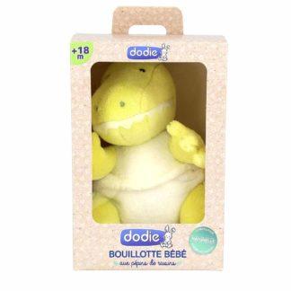Dodie Bouillotte Dinosaure Bébé aux Pépins de Raisins 18 mois et +