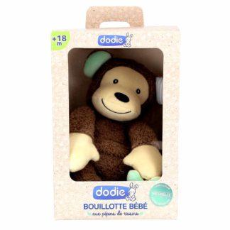 Dodie Bouillotte Gorille Bébé aux Pépins de Raisins 18 mois et +
