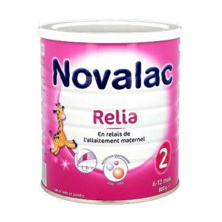 Novalac Lait Relia 2ème âge