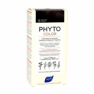 Phytocolor Coloration Permanente 3 Châtain Foncé