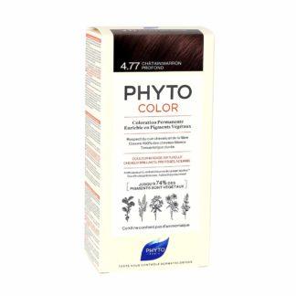 Phytocolor Coloration Permanente 4.77 Châtain Marron Profond