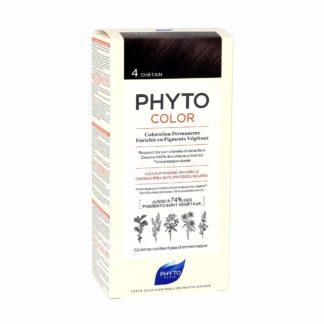 Phytocolor Coloration Permanente 4 Châtain