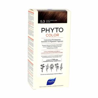 Phytocolor Coloration Permanente 5.3 Châtain Clair Doré