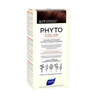 Phytocolor Coloration Permanente 6.77 Marron Clair Cappuccino