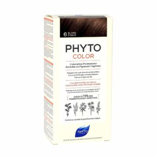 Phytocolor Coloration Permanente 6 Blond Foncé
