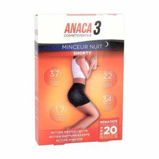 Anaca 3 Shorty Minceur Nuit Taille L/XL