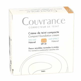 Avène Couvrance Crème de Teint Compacte Fini Mat Naturel