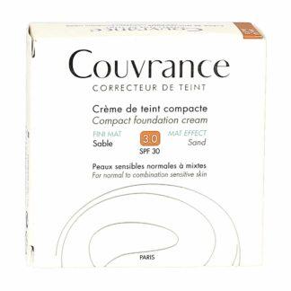 Avène Couvrance Crème de Teint Compacte Fini Mat Sable
