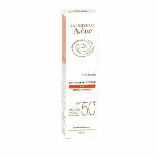 Avène Crème Zones Sensibles SPF 50+