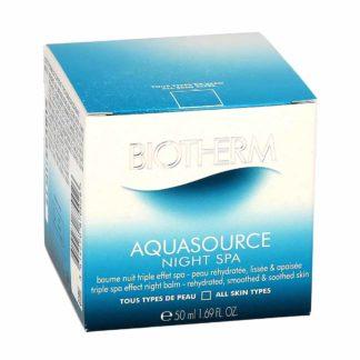 Biotherm Aquasource Night SPA baume nuit