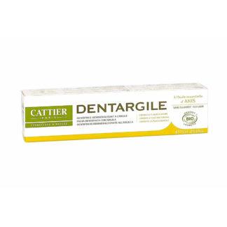 Cattier Dentargile Anis Dentifrice Reminéralisant à l'argile