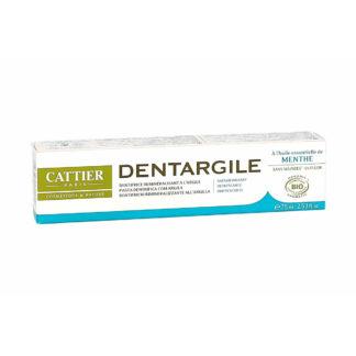 Cattier Dentargile Menthe Dentifrice Reminéralisant à l'argile