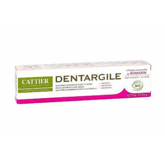 Cattier Dentargile Romarin Dentifrice Reminéralisant à l'argile