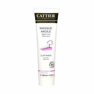 Cattier Masque Argile Rose Aloé Vera