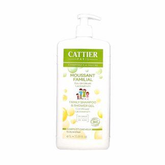 Cattier Moussant Familial au Lactosérum Cheveux et Corps