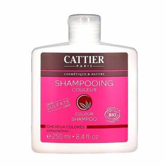 Cattier Shampooing Couleur Sans Sulfates Cheveux Colorés
