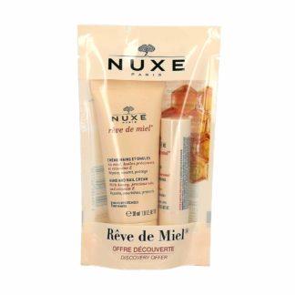 Nuxe Rêve de Miel Duo Gourmand Crème Main + Stick Lèvres