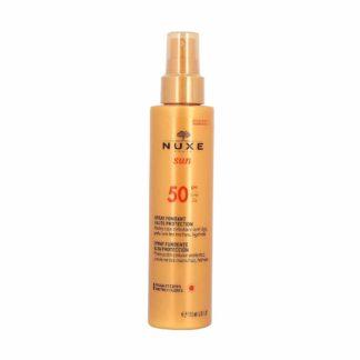 Nuxe Sun Spray Solaire Visage et Corps Haute Protection SPF50