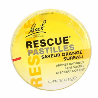 Bach Rescue Pastilles Saveur Orange/Sureau