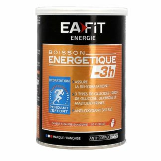 EAFIT Boisson Energétique -3H Orange Sanguine