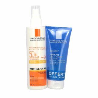 La Roche-Posay Anthelios Spray SPF50+ 200ml + Lipikar Gel Lavant 100ml Offert