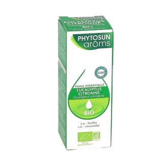 Phytosun Arôms Eucalyptus Citronné Huile Essentielle Bio