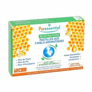 Puressentiel Respiratoire Pastilles aux 3 Miels Aromatiques