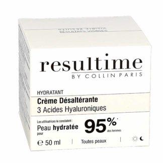Resultime Crème Désaltérante 3 Acides Hyaluroniques