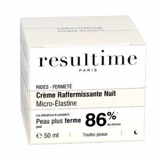 Resultime Crème Raffermissante Nuit Micro-Elastine