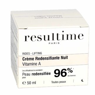 Resultime Crème Redensifiante Nuit Vitamine A
