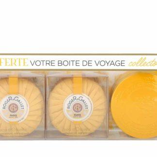 Roger & Gallet Coffret de 2 Savons Bois d'Orange 200g + boite collector offerte