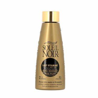 Soleil Noir Lait Vitaminé Ultra Bronzant Sans Filtre