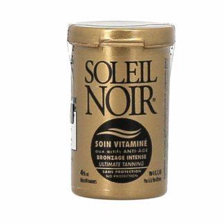 Soleil Noir Soin Vitaminé Bronzage Intense Sans Protection