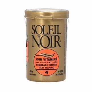 Soleil Noir Soin Vitaminé Bronzage Intense SPF 4