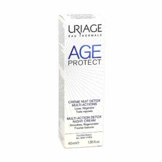 Uriage Age Protect Crème de Nuit Détox Multi-Actions