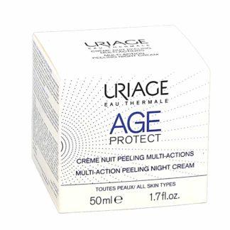 Uriage Age Protect Crème de Nuit Peeling Multi-Actions