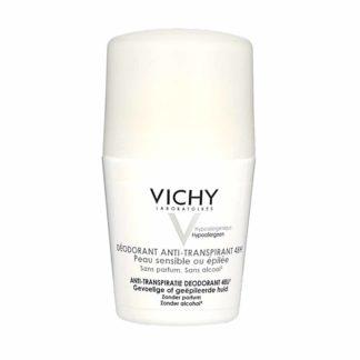 Vichy Déodorant Anti-Transpirant Bille 48H Peaux Sensibles ou Epilées