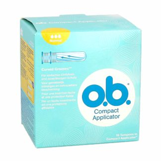OB Tampons Normal Avec Applicateur