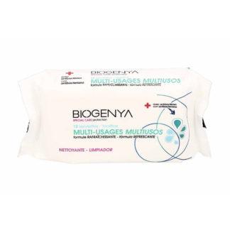 Biogenya Lingettes Antibactériennes paquet de 12
