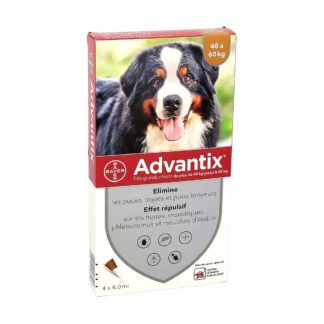 Advantix Anti-Puces Très Grands Chiens 40-60kg
