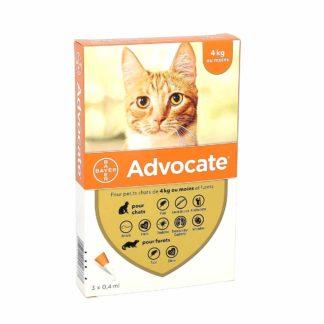 Advocate Chats ≤ 4kg et Furets