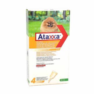 Ataxxa Anti-Puces Pour Chiens -de 4 kg