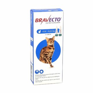 Bravecto 250mg Spot-On Chats 2
