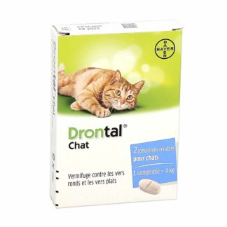 Drontal Vermifuge Chat