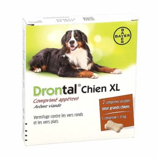 Drontal Vermifuge Chien XL